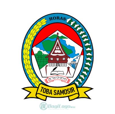 Kabupaten Toba Logo Vector
