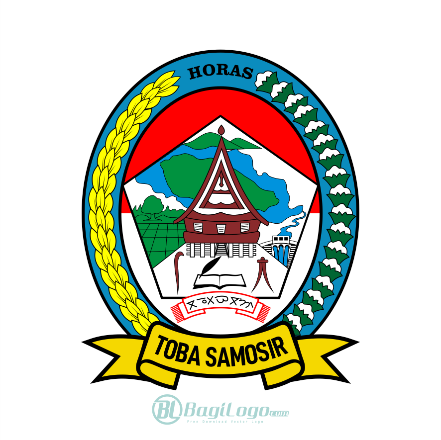Kabupaten Toba Logo Vector Bagilogo Com