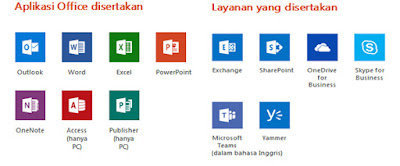 paket office 365