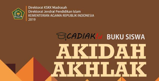 Buku Paket Akidah Akhlak Kelas 8 MTs Kurikulum 2013 Revisi 2019 TERBARU
