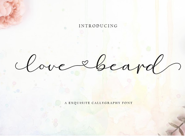 Love Biard Romantic Font Free Download