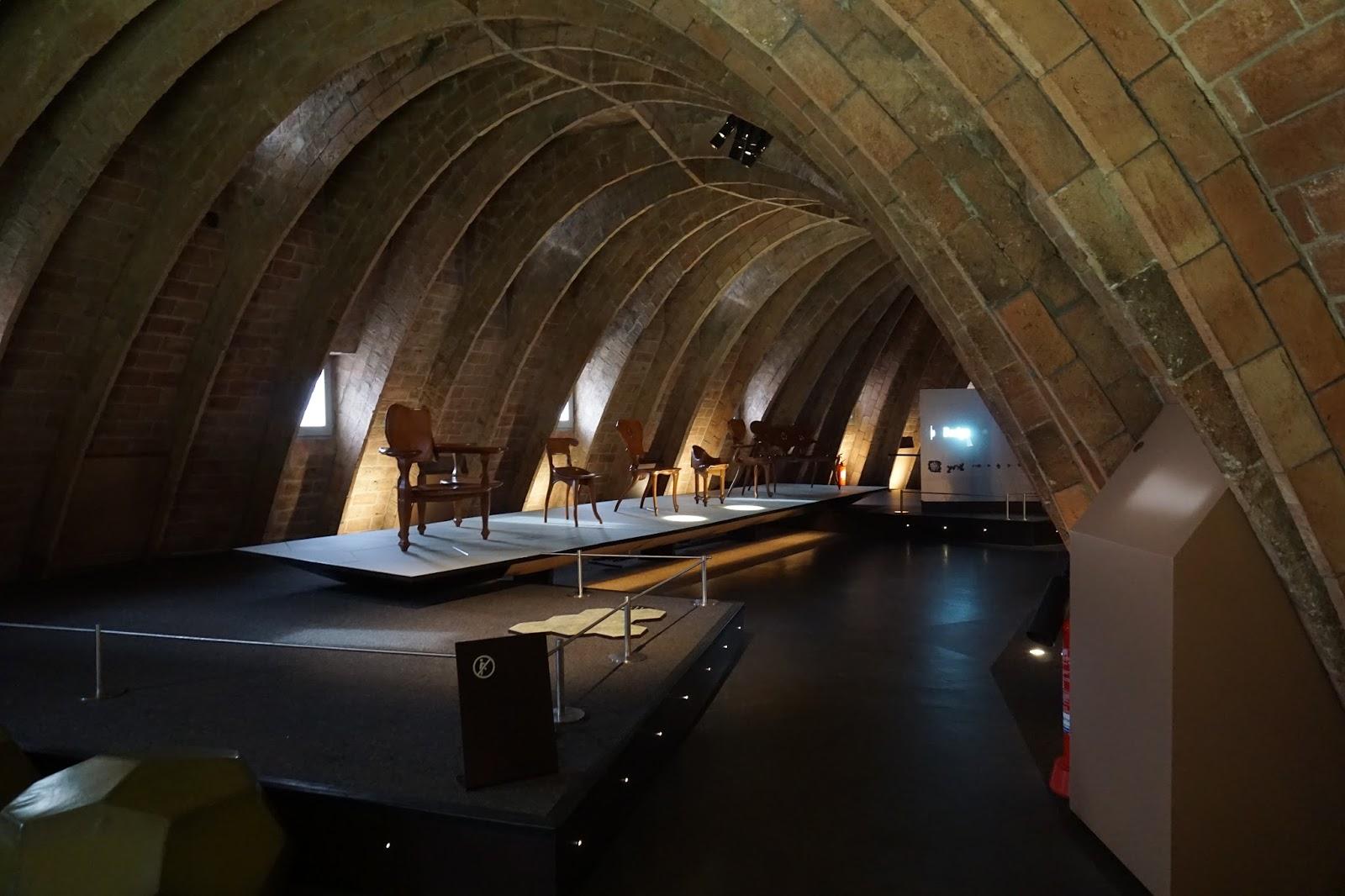 カサ・ミラ(Casa Milà) ガウディの椅子