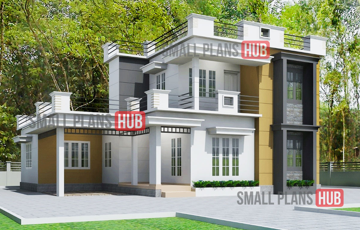 Kerala Style 3 Bedroom House Plan And Elevation Download For Free Small Plans Hub