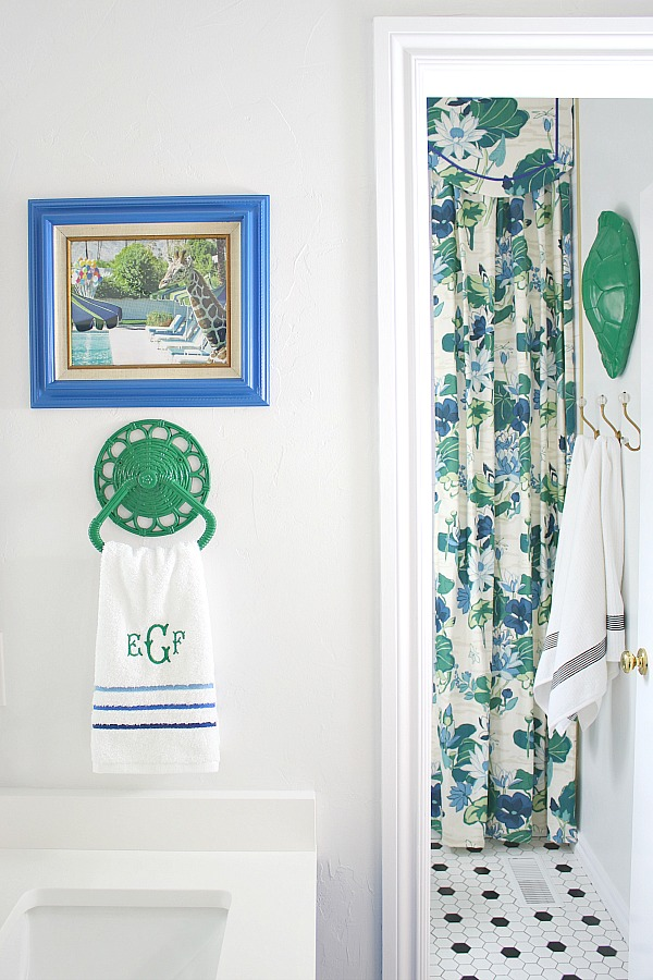 madcap cottage lake agawam fabric, kids bathroom decor, be our guest book,