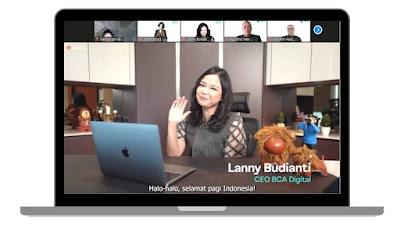 Press conference Grand launcing aplikasi blu by BCA Digital