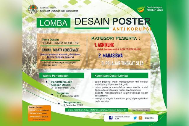 Lomba Desain Poster Anti Korupsi