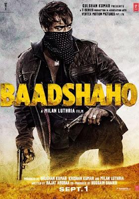 Baadshaho 2017 Hindi 480p DVDRip 400MB
