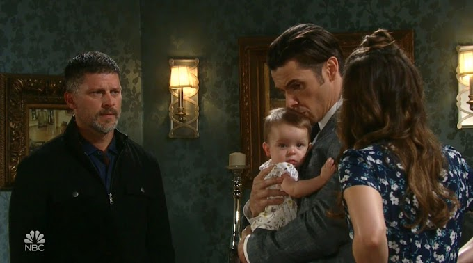 Baby Mickey Falls Deathly Ill on Days of Our Lives!
