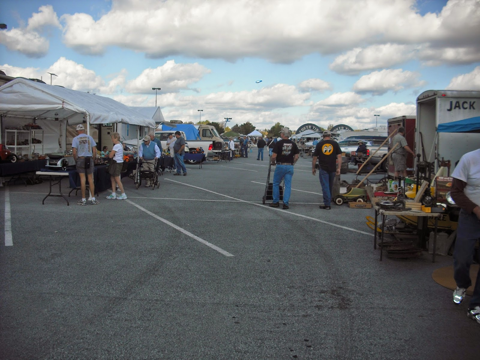 a annual auto parts swap meet