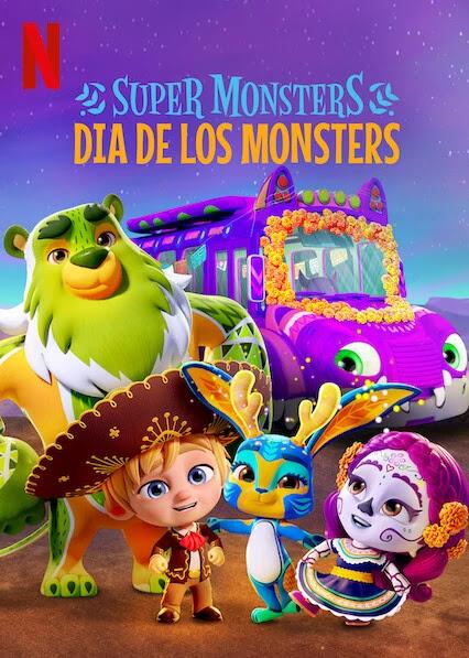 Xem Phim Hội Quái Siêu Cấp: Ngày Hội Quái Vật - Super Monsters: Dia de los Monsters