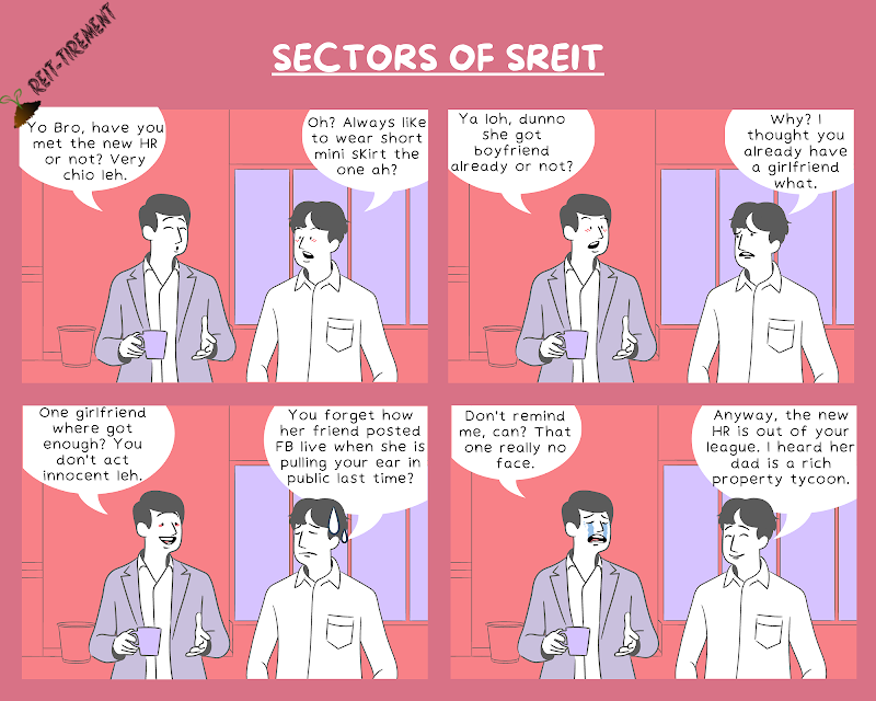 Comic Strip - Sectors of SREIT