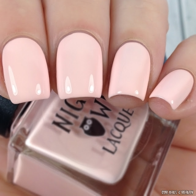 Night Owl Lacquer-Just Peachy