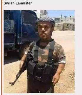 persona parecida al actor de syrian