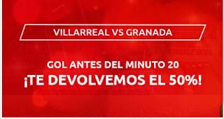 Mondobets promo Villareal vs Granada 20-1-2021