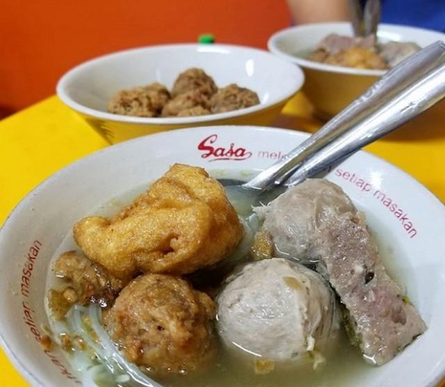 Bakso Eddy;5 Kuliner Bakso Enak di Kota Probolinggo;