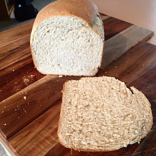 Spelt bread made in Bread Machine