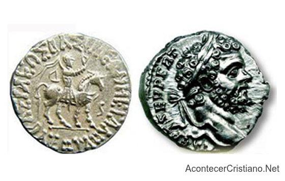 Monedas antiguas del tiempo de Jesús