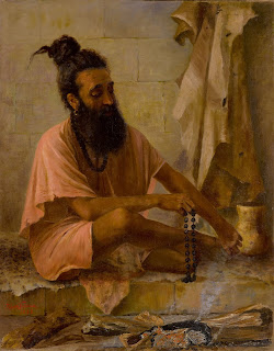 N10333, Lot 31, Raja Ravi Varma, Untitled (Swami Vishwamitra in Meditation), Art Scene India