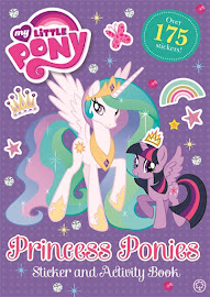 MLP Princess Ponies Sticker and Activity Book Book Media