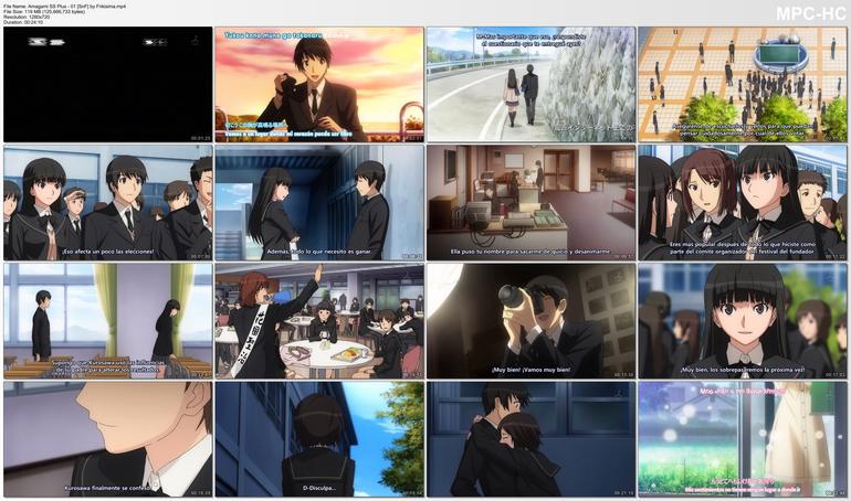 Capturas de Amagami SS+ Plus