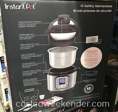 Costco 1226685 - Instant Pot Nova Plus 6qt Pressure Cooker: discover new ways you can cook your old-time favorite dishes