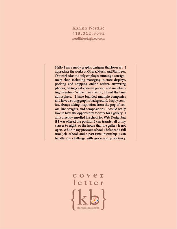 sample cover letter for skilled laborer