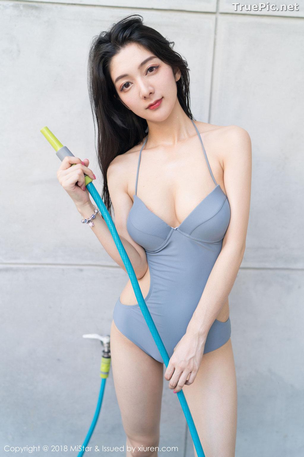 Image MiStar Vol.238 - Chinese Model - Xiao Reba (Angela小热巴) - Sleep Dress and Monokini - TruePic.net - Picture-35