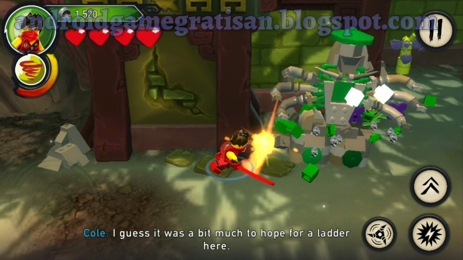 Lego Ninjago Shadow Of Ronin Apk Obb Review Dan Download Game