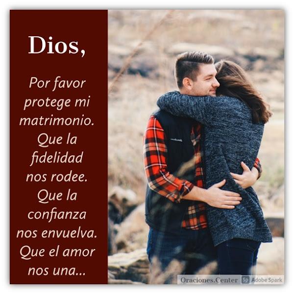 Oración para Proteger mi Matrimonio