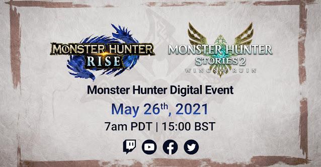 Monster Hunter Digital Event Maio