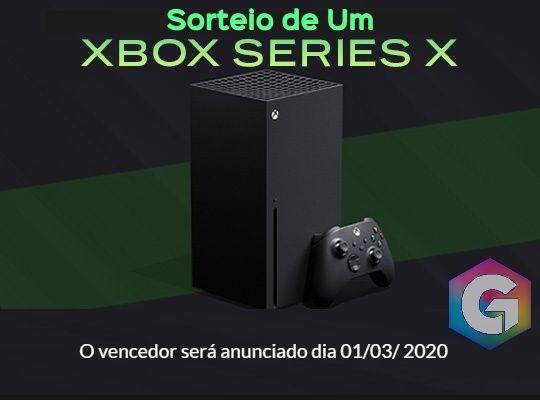 Sorteio de Um Xbox Series X!