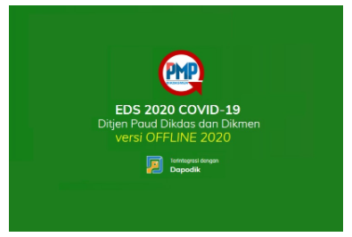 Rilis Aplikasi EDS 2020 Covid-19