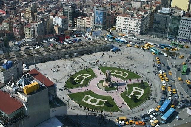 ميدان تقسيم | اسطنبول | السياحة فى تركيا