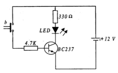 NPN transistörün anahtarlama elemanı olarak kullanılması