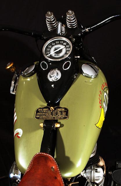 Harley Davidson By AQG Hell Kustom