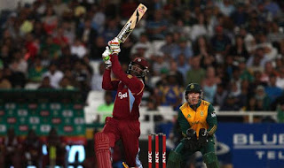Chris Gayle 77 - South Africa vs West Indies 1st T20I 2015 Highlights