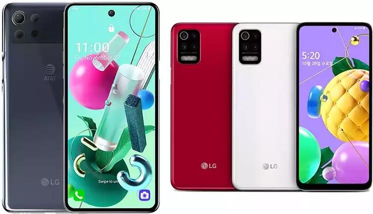 """شركة """"LG"""" تكشف عن هاتيفها الجديدين Q52 وK92 5G"""