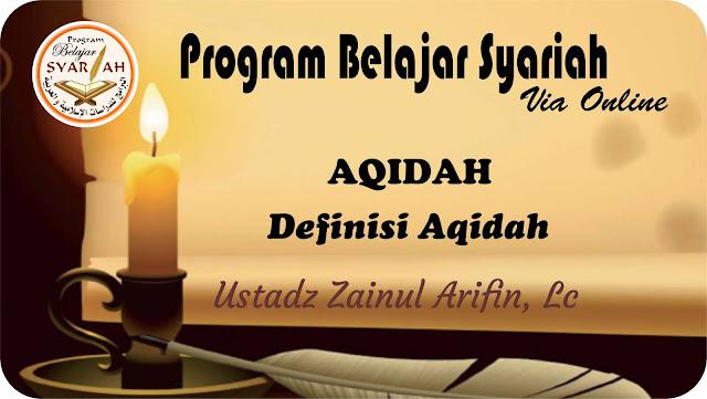 Definisi Aqidah