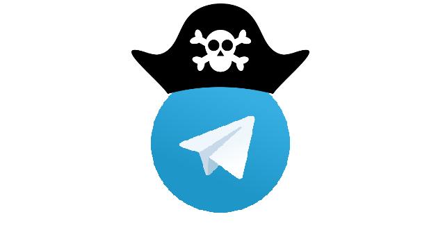 Como o Telegram virou a baía dos piratas