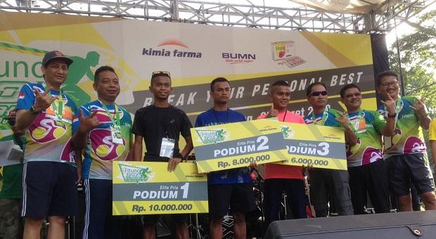 Fituno 10K Run Challenge Pertama di Bandung Sukses Digelar