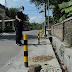 Merasa Ganggu Aktifitas Usahanya, Warga Sesalkan Patok Jalan Milik Pemdes Beton