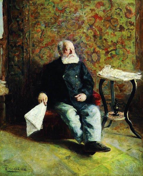 Маковский Владимир Егорович - В швейцарской. 1893