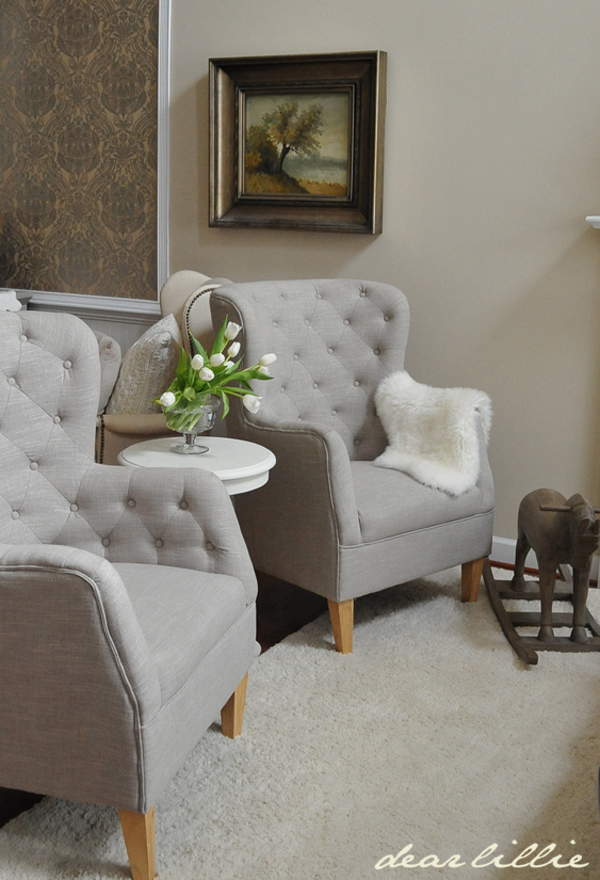 Tj Maxx Chair Small Office Table And Set New Tufted Chairs Nest Pillows With Blue Eggs He Has Risen Dear Lillie Studio