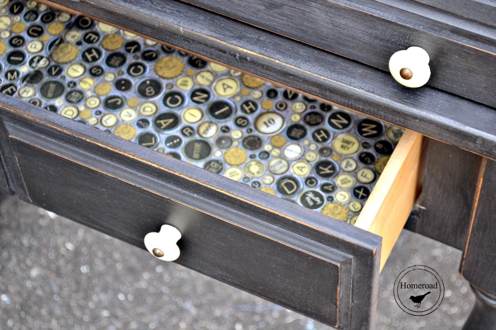 roll-top-desk-with-miss-mustard-seed-milk-paint-typewriter www.homeroad.net