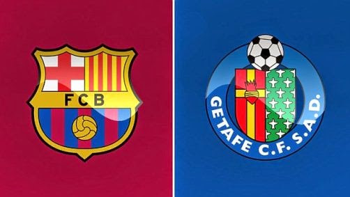 Prediksi Pertandingann Barcelona vs Getafe 29 April 2015
