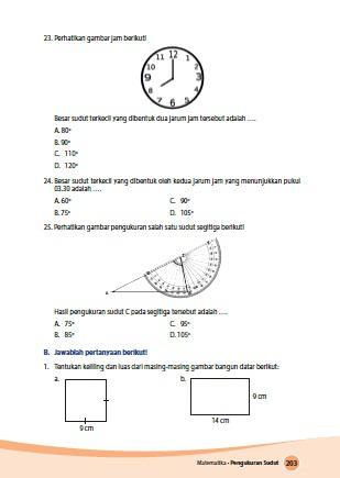 kunci jawaban senang belajar matematika kelas 4 kurikulum 2013 revisi 2018 halaman 203