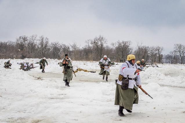Реконструкция боя при Соколово 9.03.2018 - 37