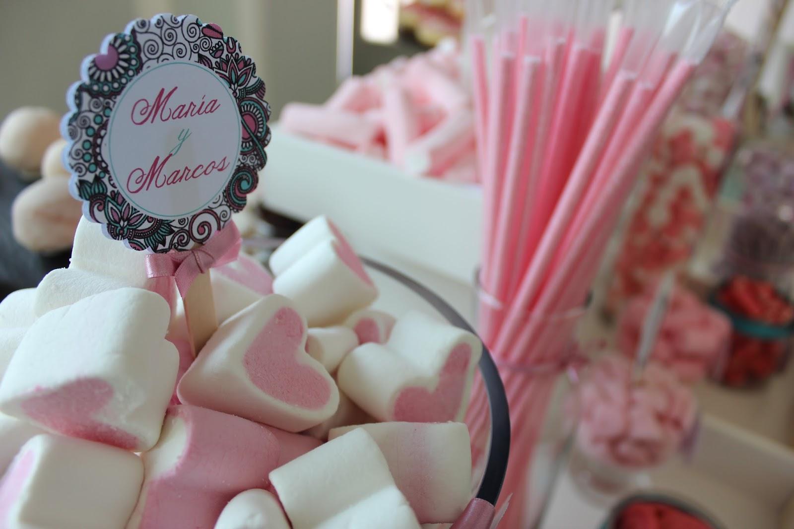 Sabores de Fiesta: candy bar en Salamanca para bodas, cumpleaños ...