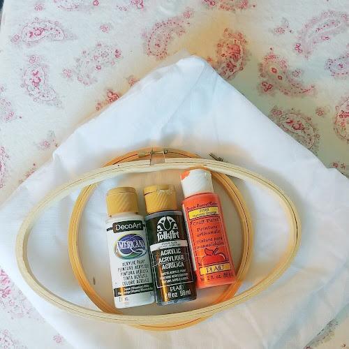 DIY Embroidery Hoop Pumpkins - 7 Days of Thrift Shop Flips