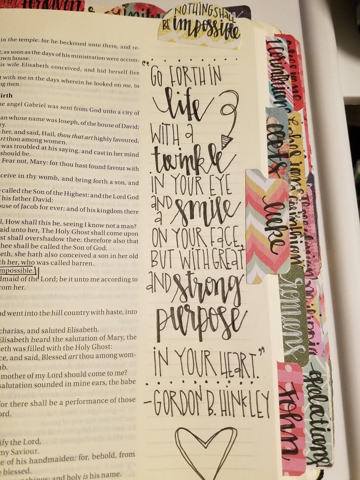 Melonheadz LDS Illustrating Bible Journaling
